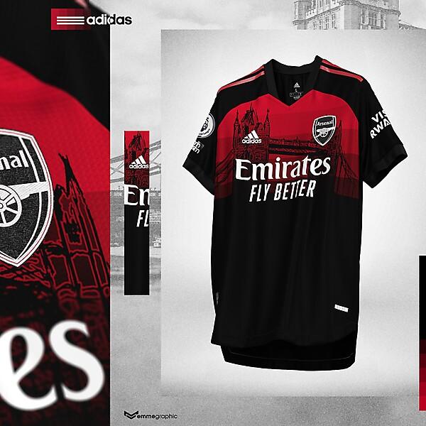 Arsenal FC | Adidas | Third | Inspired by Tower Bridge