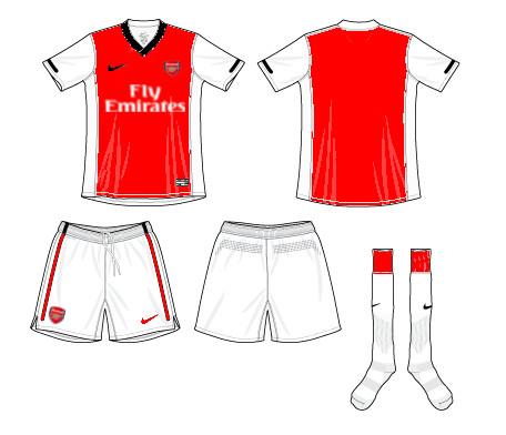 Arsenal FC Home Kit