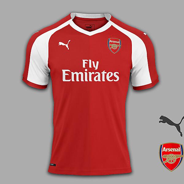 Arsenal home concept.