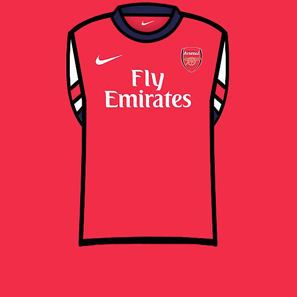 Arsenal home kit 13-14