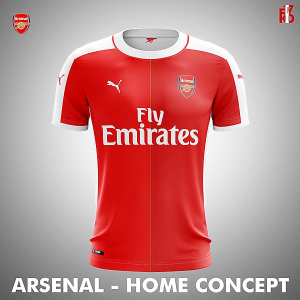 Arsenal Home Kit Concept