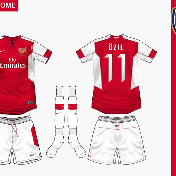 Arsenal Home Nike 2014