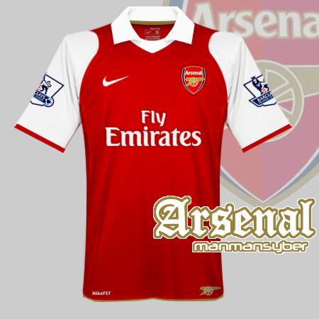 Arsenal nike Home Kit