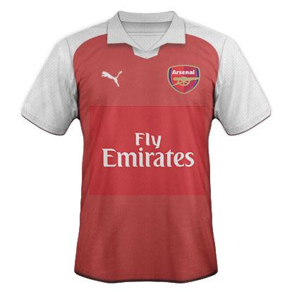 Arsenal Puma kit