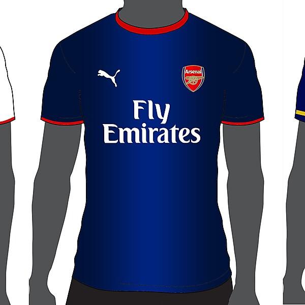 Arsenal Puma 14/15 (Home-Away-Third)
