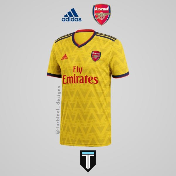 Arsenal x Adidas - Away Kit Concept