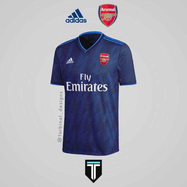 Arsenal x Adidas - Third Kit Concept