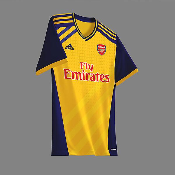 Arsenal x adidas away concept