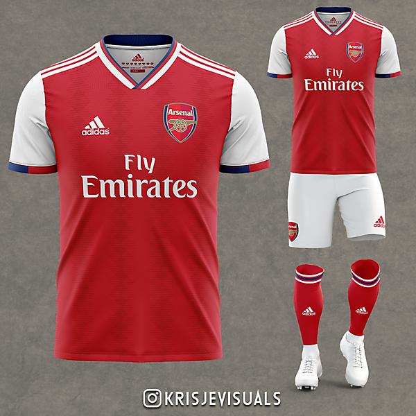 Arsenal x Adidas Home