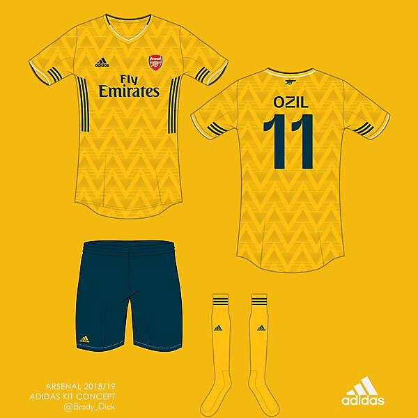 Arsenal x Adidas kit concept
