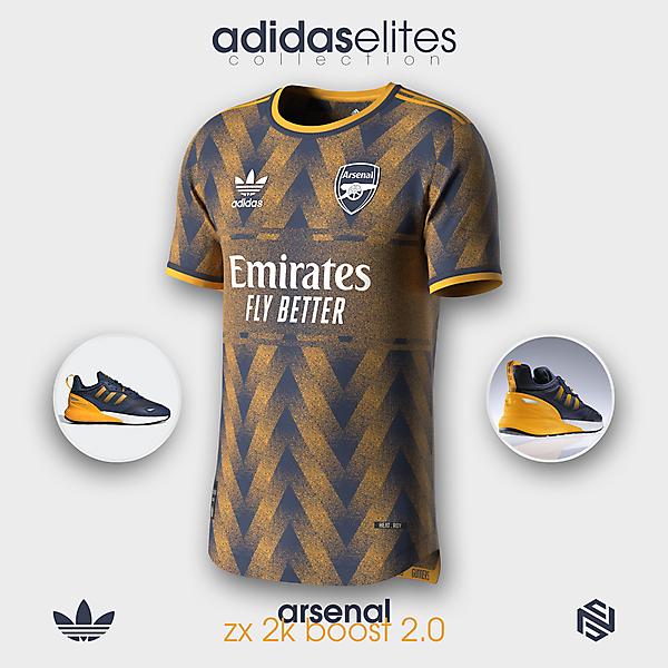 arsenal x adidas x zx 2k boost 2.0 :: adidas elites collection