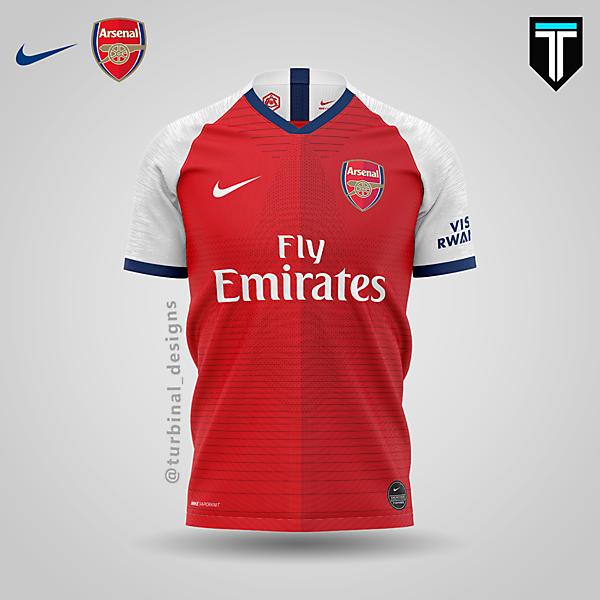 Arsenal x Nike - Home Kit Concept