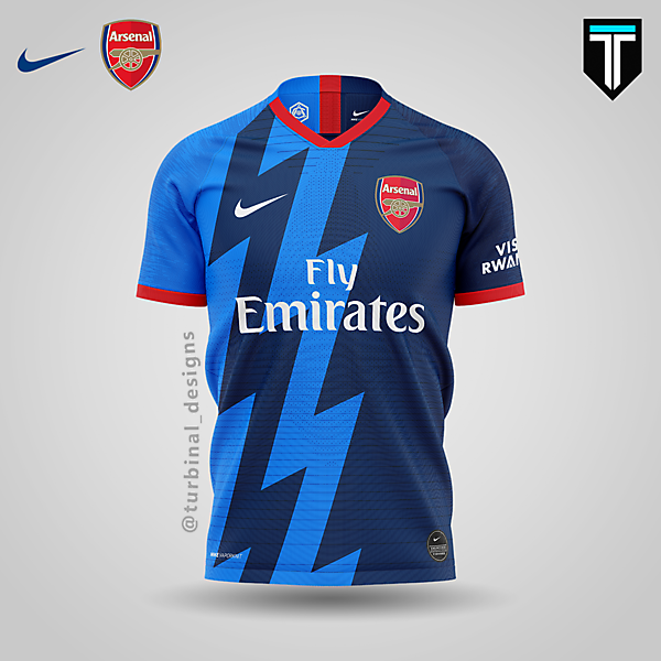 Arsenal x Nike - Third Kit Concept