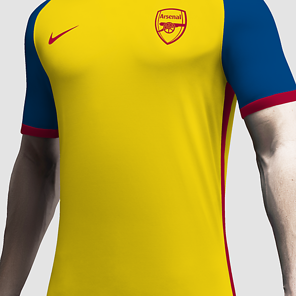 Arsenal x Nike Concept Away Kit