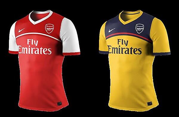 Arsenal home & away