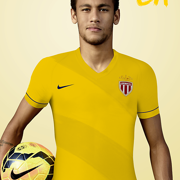 AS Monaco FC Away Kit Design