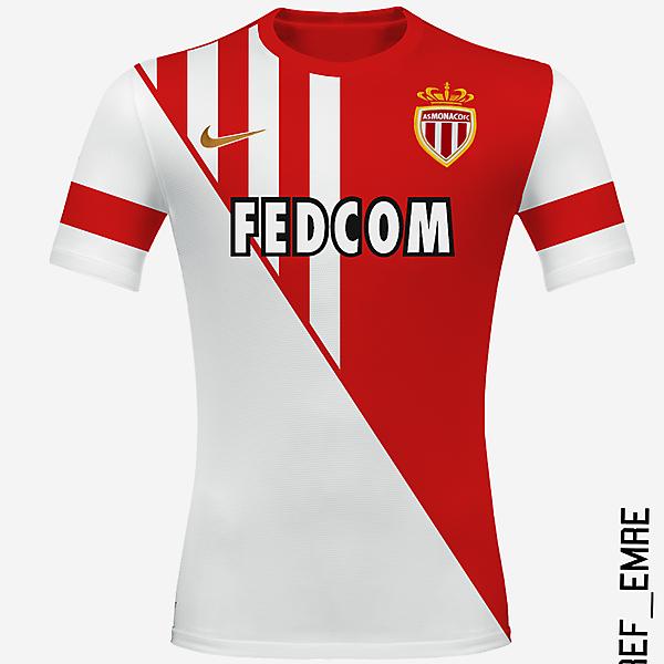 As Monaco Home Shirt Design