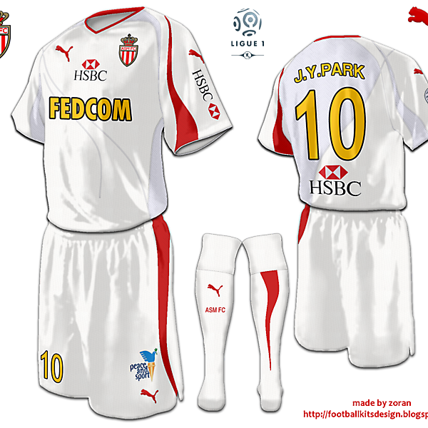 AS Monaco fantasy third