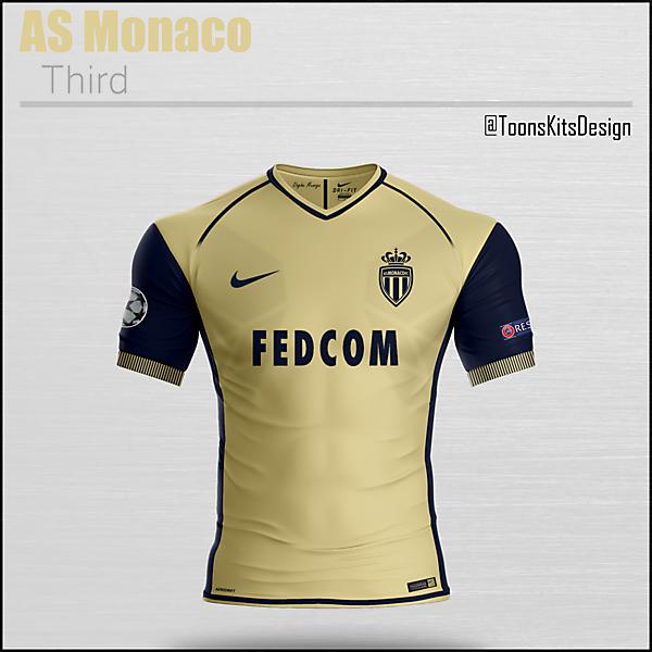 AS Monaco Third