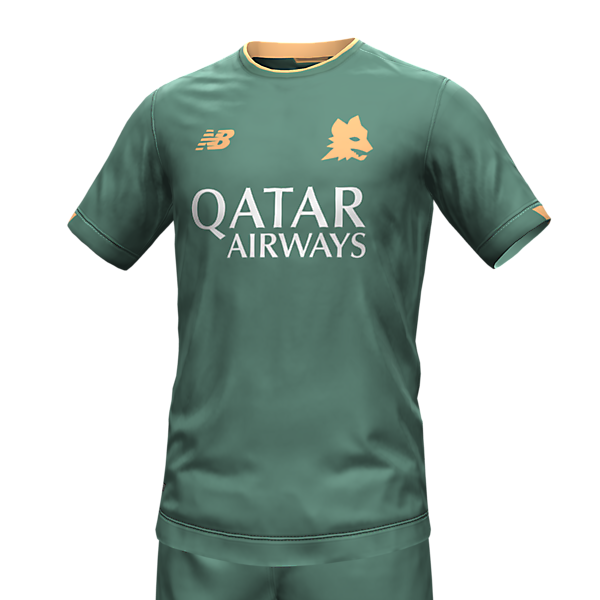 AS Roma concept away kit
