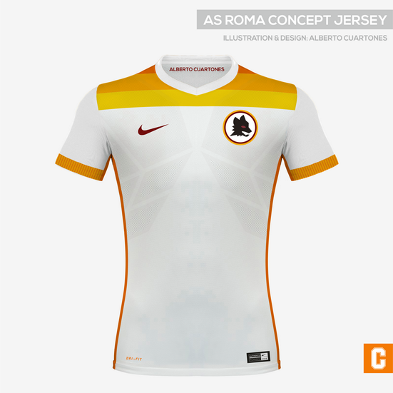 AS Roma Concept Jersey