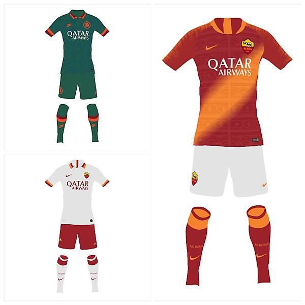 AS Roma fantasy kits 19/20