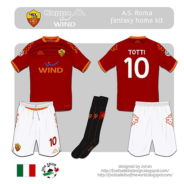 A.S. Roma fantasy home