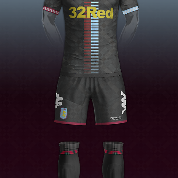 Aston villa & Kappa third kit concept