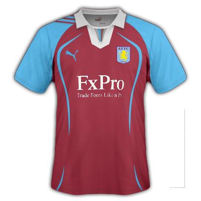 Aston Villa Home Fantasy Kit (Puma)