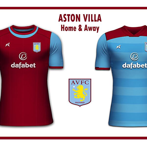 Aston Villa Home & Away