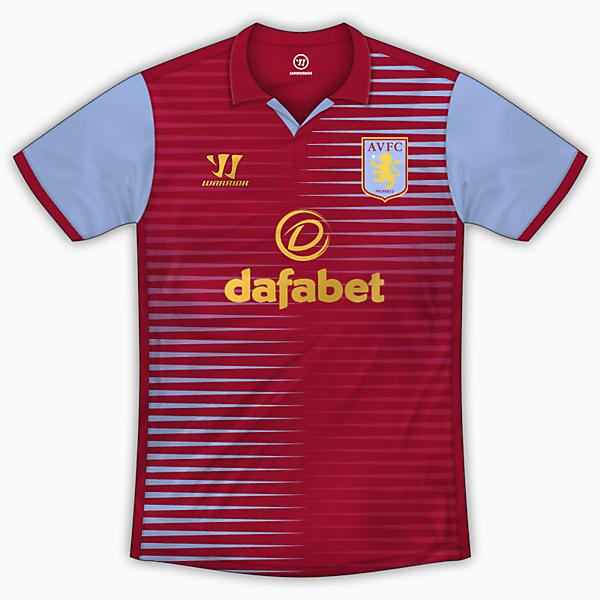 Aston Villa Home Shirt - Warrior