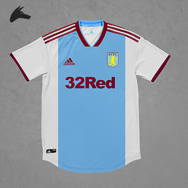 Aston Villa x adidas away concept