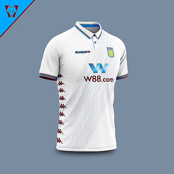 Aston Villa x Kappa away concept