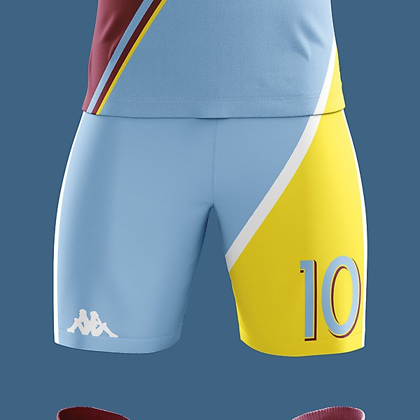 Aston Villa X Kappa Away Concept Kit