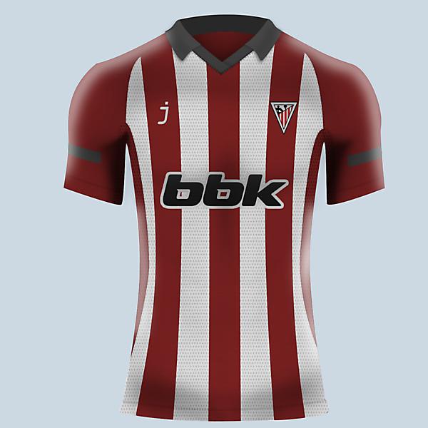 Athletic Club de Bilbao home jersey by J-sports