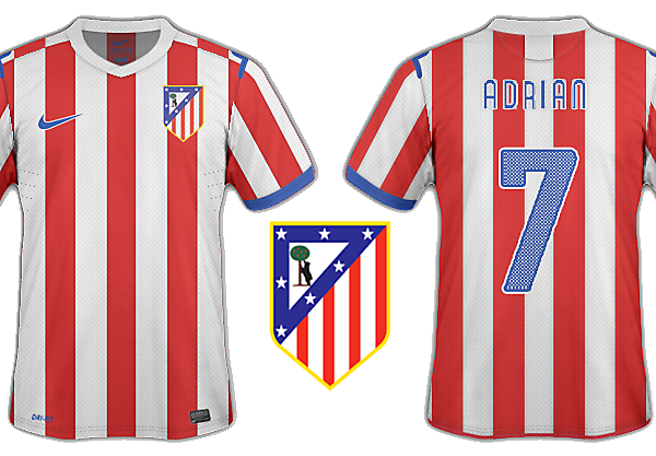 Atl Madrid home
