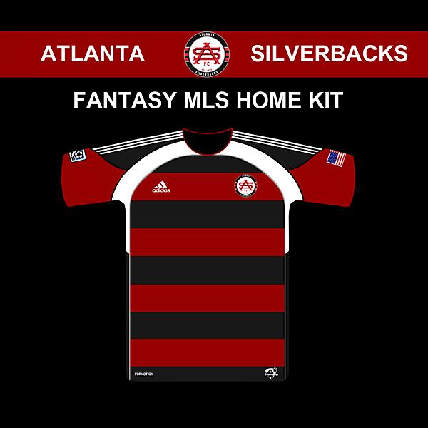 Atlanta Silverbacks MLS Home shirt