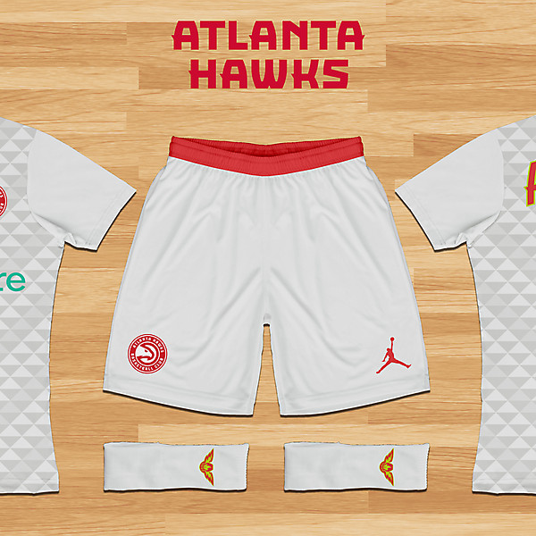 Atlanta Hawks - Home Kit