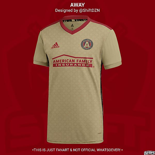 Atlanta United Away Jersey Concept