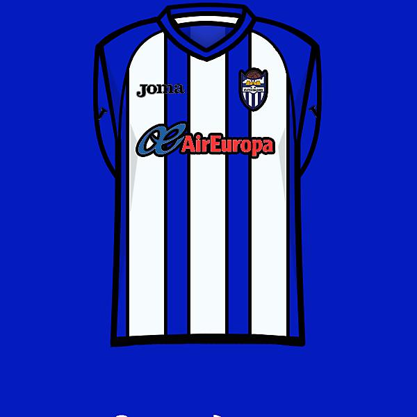 Atlètic Balears home kit 13-14