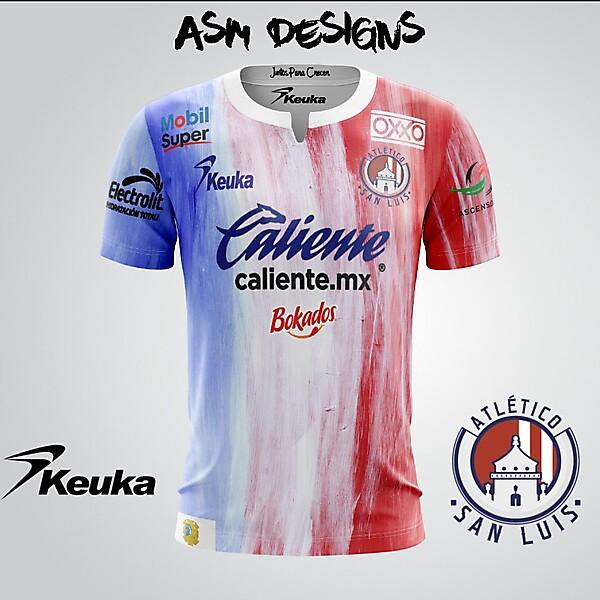 Atlético de San Luis 2018 Keuka Home Kit