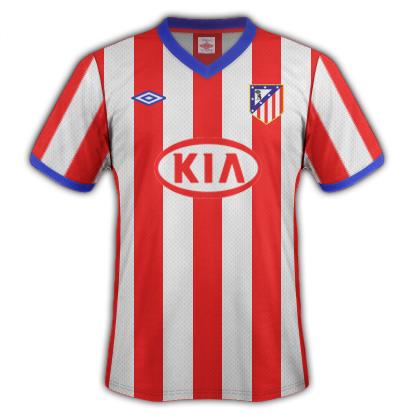 Atletico de Madrid fantasy kits with Umbro