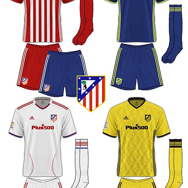 Atletico Madrid Adidas