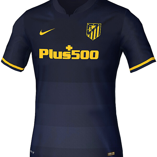 Atletico Madrid Away Concept 16-17