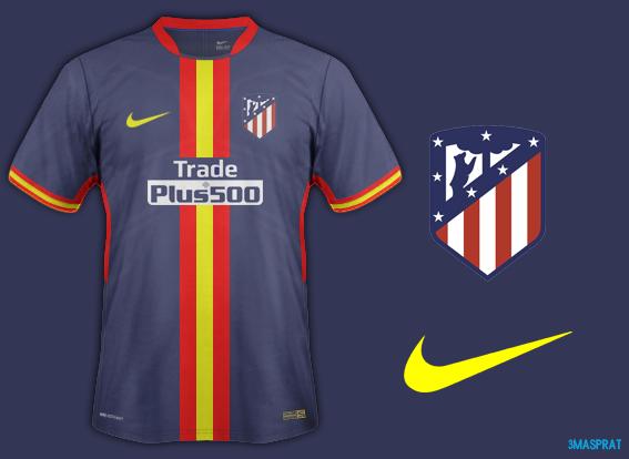 Atletico Madrid Away Fantasy Kit