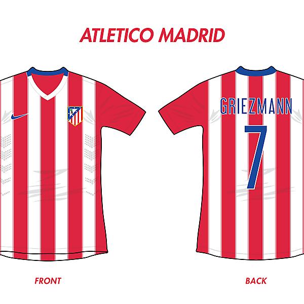 Atletico Madrid Home 2016