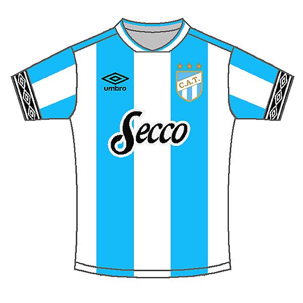 Atlético Tucuman Home kit - ⚡Sportix
