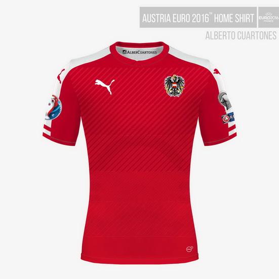 Austria UEFA EURO 2016™ Home Shirt