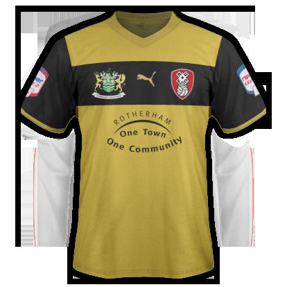 Rotherham United Away 2012-13