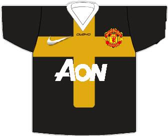 Man United 2012/13 Away Shirt